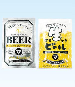 発砲錠菓 なまいきビール